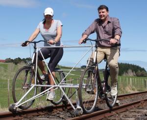Tandem Rail Bike