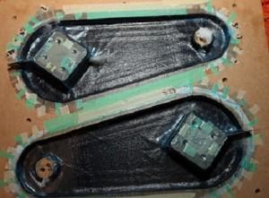 Carbon fibre steering arms
